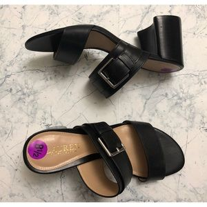 ✨Black Ralph Lauren Sandals NWT